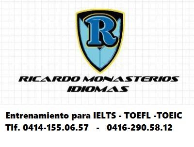 Clases Para IELTS y TOEFL Tlf. 0414-155.06.57